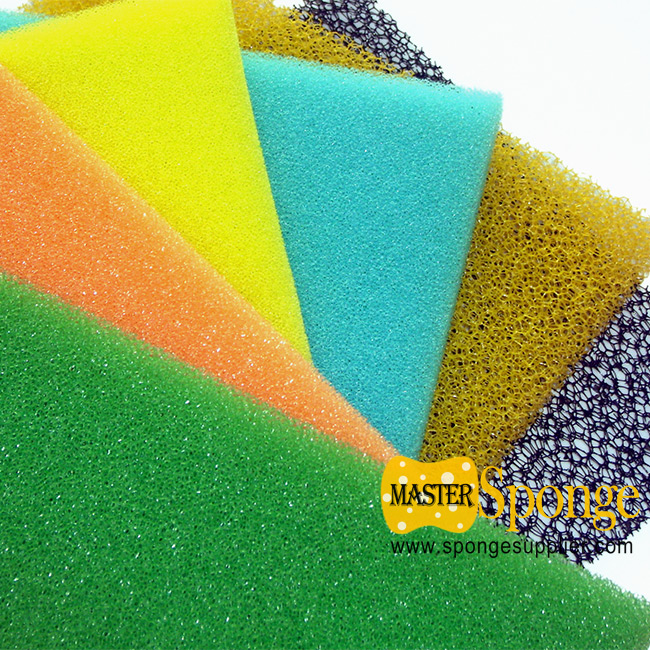 10ppi-60ppi reticulated open cell polyether based polyurethane foam