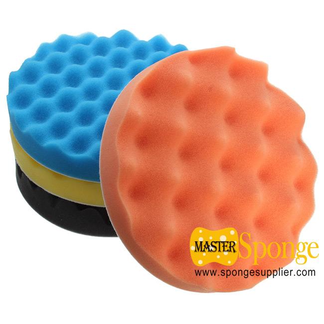 Car waxing polishing sponge