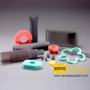Custom made special-shaped flexible polyurethane PU foam sponge