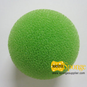 Reticulated-open-cell-soft-sponge-ball
