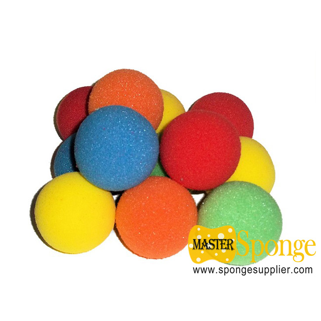 bathtub toys colored soft foam sponge balls