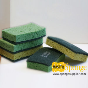 cellulose sponge scouring pad