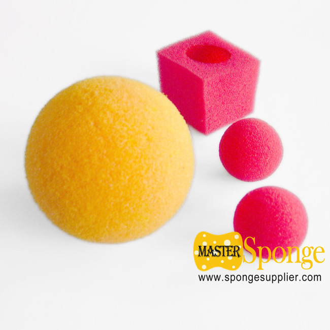 soft light weight PU foam sponge ball