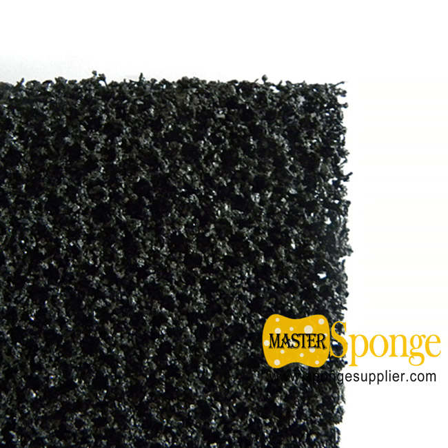 Granular activated carbon reticulated foam