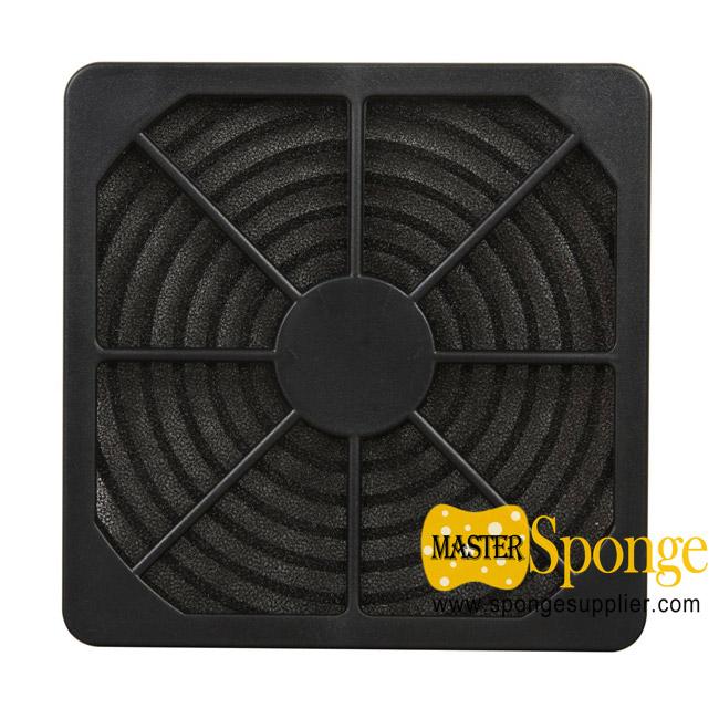 Dustproof air filter foam mesh for cooling fan