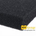 large-pore-black-coarse-foam-for-water-treatment