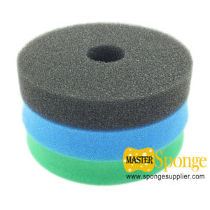 polyester and polyether sponge filter foam