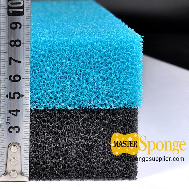 China-made compressible open pore aquatic filtration foam sponge