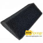 China-made-open-cell-reticulated-polyether-polyurethane-foam-gutter-filter