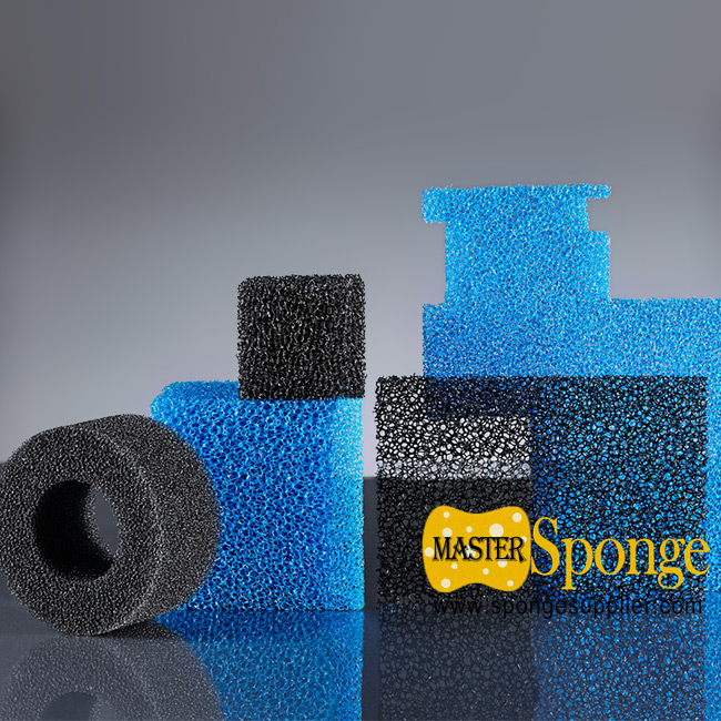 Custom-made Reticulated cellular sponge foam for packed tower water treatment