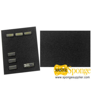 Electronic Materials Anti-static High Density Black Conductive PU Foam