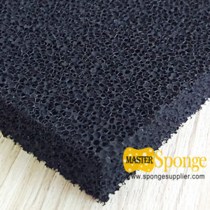 Powdered activated carbon filters for mercury control (PAC foam)