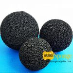 Powdered-activated-charcoal-carbon-sponge-foam-ball