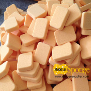 Wholesale Yellow Rounded edges hydrophiliated grout sponge