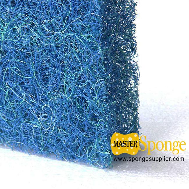 Blue & Green Biological Filter for fish Farming foam