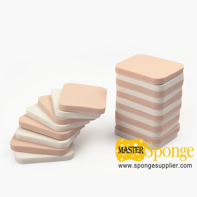 Beauty Blender Tool SBR Rectangle Cosmetic Power Puff Sponge