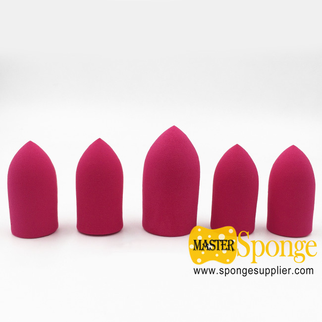 Beauty Tool Non-Latex Finger Bullet Shape Dauber Sponge Applicator