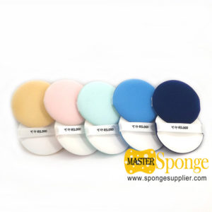 Beauty Tool Practical Supply Round Resilient Flawless Cosmetics Puff Foundation Blending Sponges