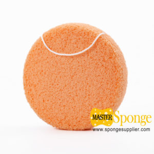 Semi-wet Soft PVA Cleansing Baby Bath Sponge Facial Sponge