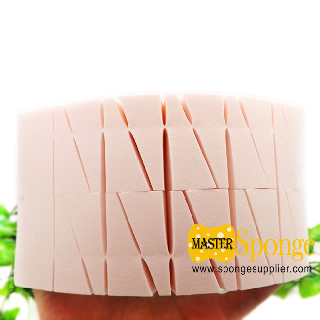 Triangle Shaped Complexion Flawless Fundation Facial Sponge Puffs