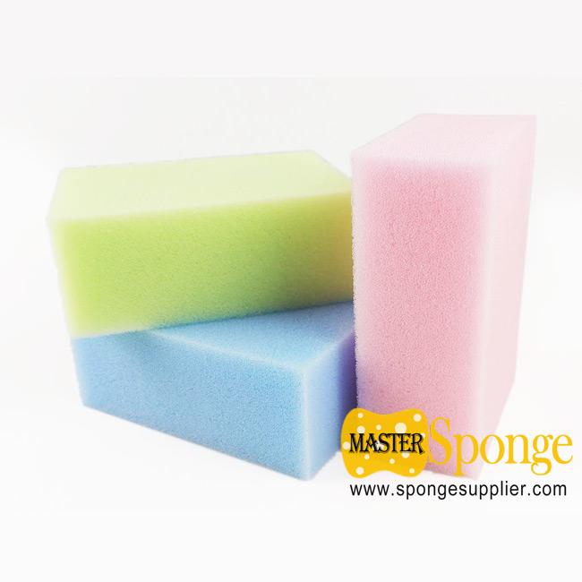 Coloured soak water skin cooling sport sponge super absorbent sponge